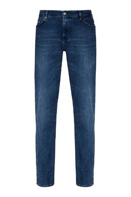 Синие потертые джинсы Boss by Hugo Boss 1166156681