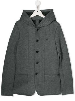 Emporio Armani Kids куртка с капюшоном 6G4GJ94JHVZF941