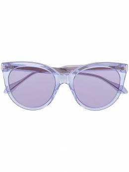 Gucci Eyewear затемненные солнцезащитные очки в оправе 'кошачий глаз' GG0565S