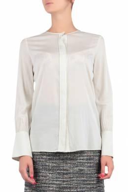 Белая блуза со скрытой застежкой Escada Sport 2819157208