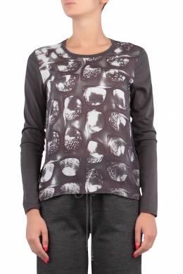 Графитовая блуза с узором Escada Sport 2819157220