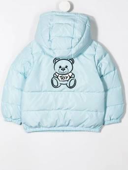 Moschino Kids пуховик с принтом Teddy Bear MUS01IBBOYL3A10