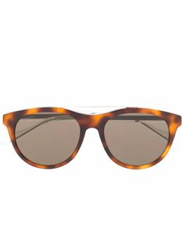 Gucci Eyewear солнцезащитные очки черепаховой расцветки GG0559S002