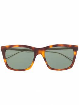 Gucci Eyewear солнцезащитные очки черепаховой расцветки GG0558S003