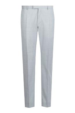 Светло-серый шерстяной костюм-двойка Strellson 585157849
