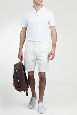 Белое поло с короткими рукавами Strellson 585157798
