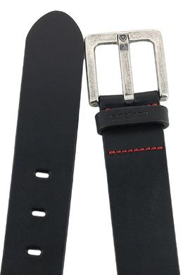 Черный кожаный ремень Strellson 585157833