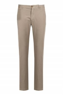Бежевые брюки из хлопка Strellson 585157877