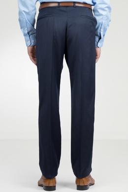 Темно-синие шерстяные брюки Strellson 585157845
