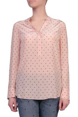 Розовая блуза с воротником-стойкой Escada Sport 2819157655