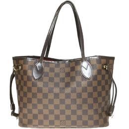 Louis Vuitton Damier Ebene Canvas Neverfull MM Bag 233639