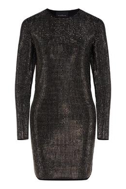 Платье мини с кристаллами John Richmond 2678157385