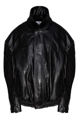Байкерская куртка с логотипом BB Balenciaga 397157817