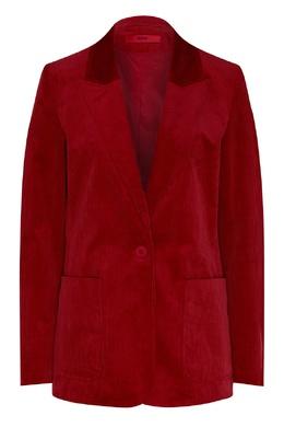 Красный бархатный пиджак Hugo Boss 622158025
