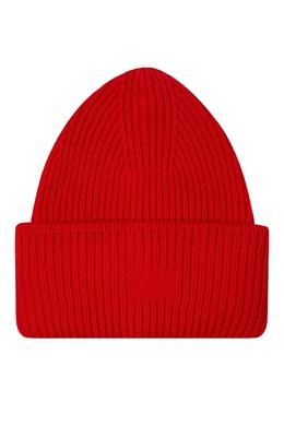 Шерстяная шапка алого цвета Addicted 1733157453