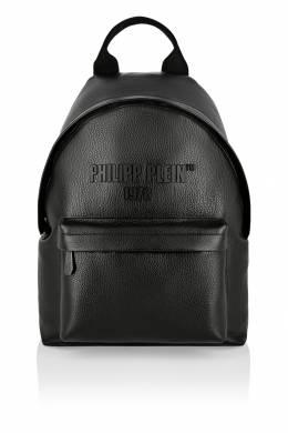 Черный кожаный рюкзак PP1978 Philipp Plein 1795157993