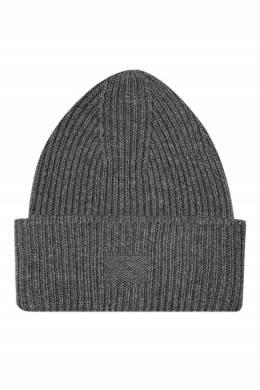 Серая шерстяная шапка Addicted 1733157461