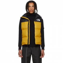 The North Face Yellow Down 1996 Nuptse Vest 192802M17800303GB