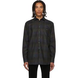 Etudes Multicolor Wool Check Portrait Shirt 192647M19200404GB