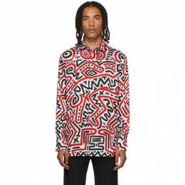 Etudes Multicolor Keith Haring Edition All Over Reflet Shirt 192647M19200604GB