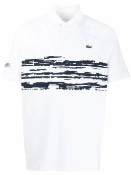 Lacoste рубашка-поло с вышитым логотипом DH7974