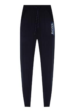 Темно-синие брюки с логотипом Boss by Hugo Boss 1166158090