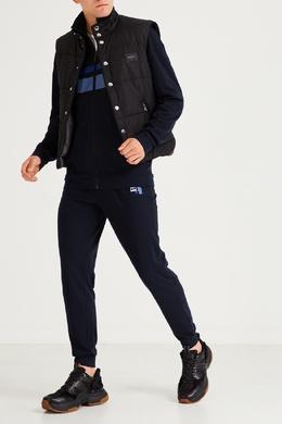 Темно-синие брюки с логотипом Boss 1166158090