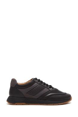 Черные кроссовки с отделкой Boss 1166158250