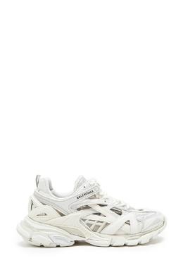 Белые комбинированные кроссовки Track 2 Balenciaga 397158073