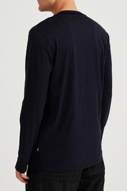 Темно-синий лонгслив Boss 1166158222