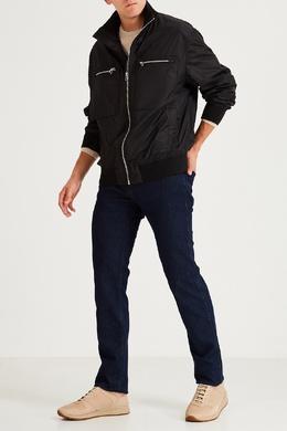 Зауженные синие джинсы Hugo Boss 622158082