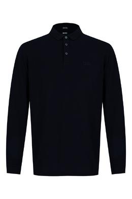 Темно-синее поло Boss by Hugo Boss 1166158086