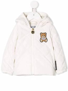 Moschino Kids стеганая куртка MMS01EL3A10