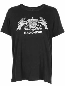 R13 футболка Radiohead свободного кроя R13W398109