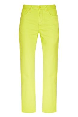 Ярко-зеленые джинсы Acne Studios 876157766