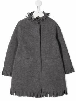 Il Gufo - пальто с бахромой GP050N66599559583800