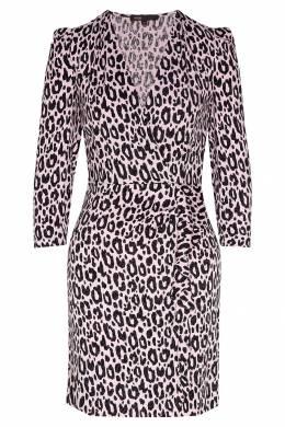 Жаккардовое платье с принтом Maje 888157944