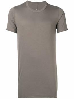 Rick Owens длинная футболка кроя слим RU19S2251JA