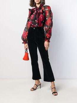 Dolce & Gabbana - блузка Sicily с принтом 63THS95V955385360000