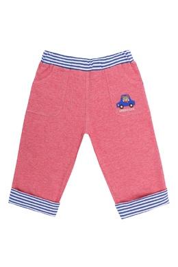 Розовые брюки с контрастной отделкой Miki House 3018159768