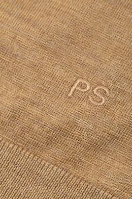 Бежевый свитер с застежкой-молнией Paul Smith 1924159185