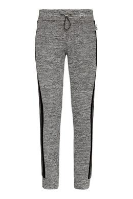 Серые спортивные брюки с лампасами Philipp Plein 1795159349
