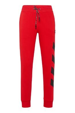 Спортивные брюки красного цвета Philipp Plein 1795159210