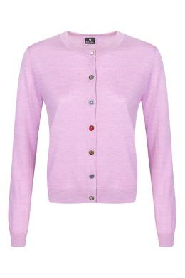 Розовый кардиган с декоративными пуговицами Paul Smith 1924159237