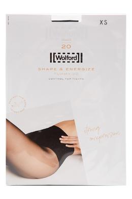 Черные моделирующие колготки 20 ден Wolford 2931160029