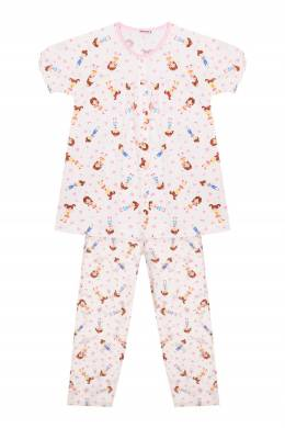 Комплект одежды с ярким принтом Miki House 3018159781