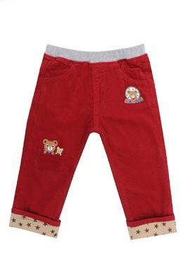 Красные брюки с нашивками Miki House 3018159644