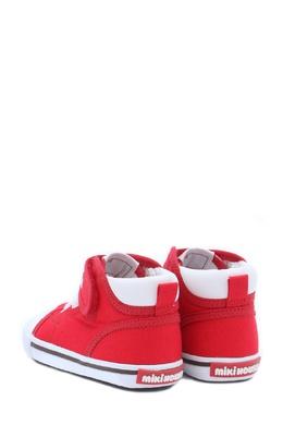 Красные кеды с логотипом Miki House 3018159729