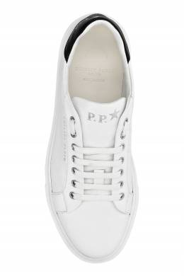 Белые кеды с логотипом Philipp Plein 1795159148