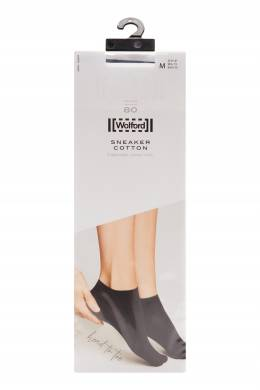 Белые хлопковые носки Wolford 2931160098